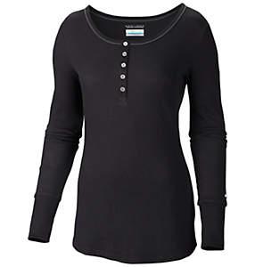 Women's Weekday Waffle™ II Henley Shirt - Plus Size
