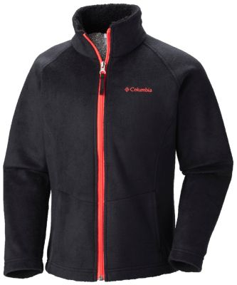photo: Columbia Girls' Dotswarm Full Zip Jacket