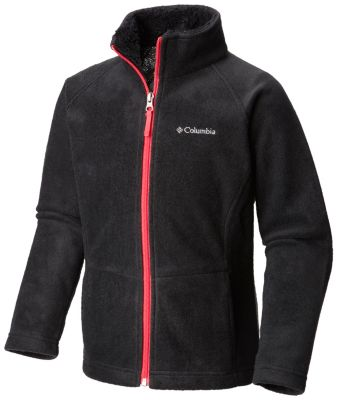 photo: Columbia Girls' Dotswarm Full Zip Jacket