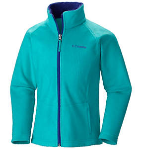 Girls' Dotswarm™ Full Zip Jacket