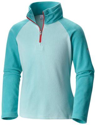 Girls' Glacial™ Fleece Half Zip Jacket at Columbia Sportswear in Daytona Beach, FL | Tuggl
