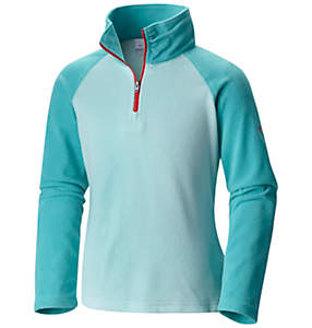 Girls' Glacial™ Fleece Half Zip Pullover
