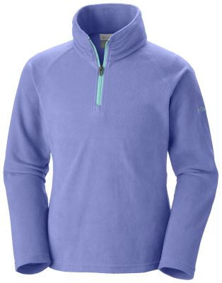 photo: Columbia Girls' Glacial Fleece Half-Zip