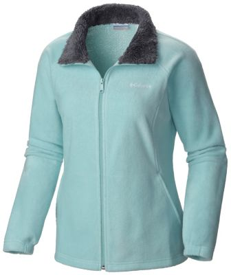 photo: Columbia Women's Dotswarm II Fleece Full Zip Jacket
