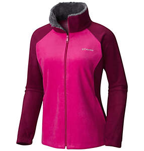 Women's Dotswarm™ II Fleece Full Zip Jacket - Plus Size