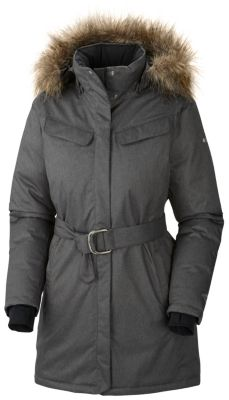 photo: Columbia Women's Alpine Escape Long Down Jacket