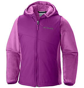 Girls' Pearl Plush™ II Hybrid Hoodie Jacket