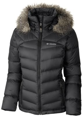 Women's Glam-Her Down Hooded Winter Jacket Extended Size | Columbia
