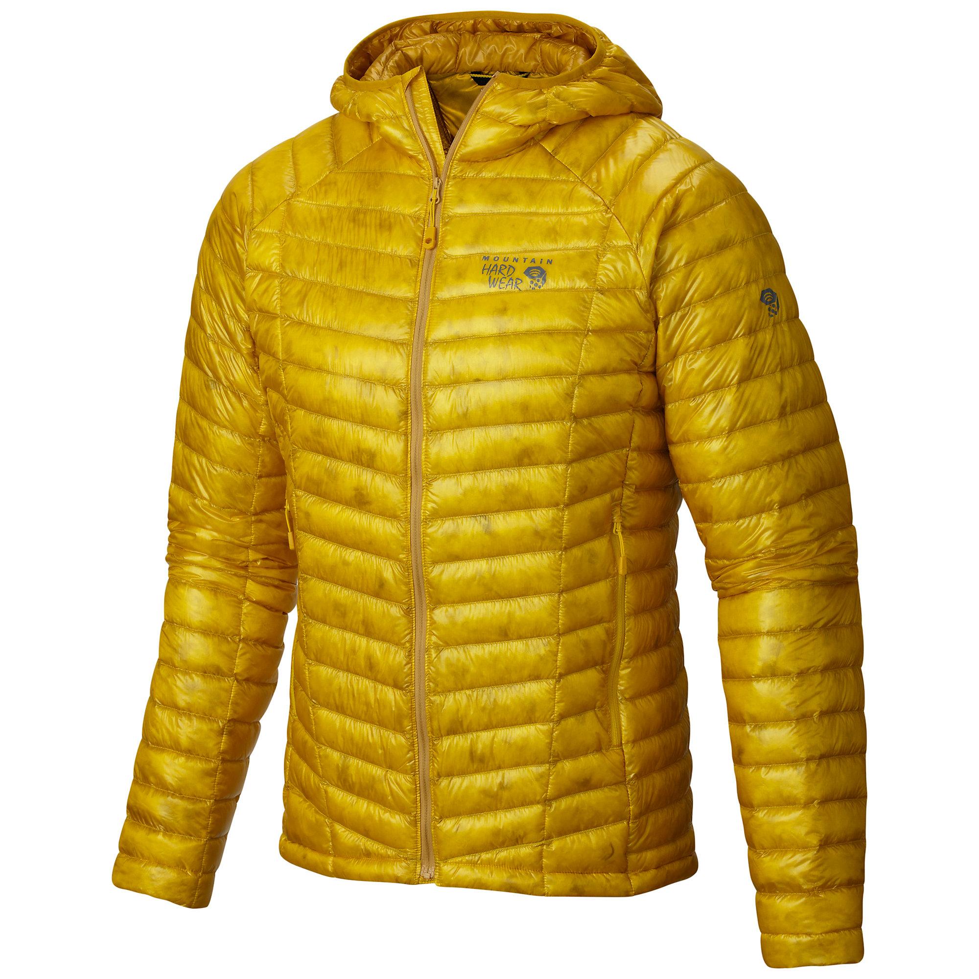 photo: Mountain Hardwear Men's Ghost Whisperer Hooded Down Jacket