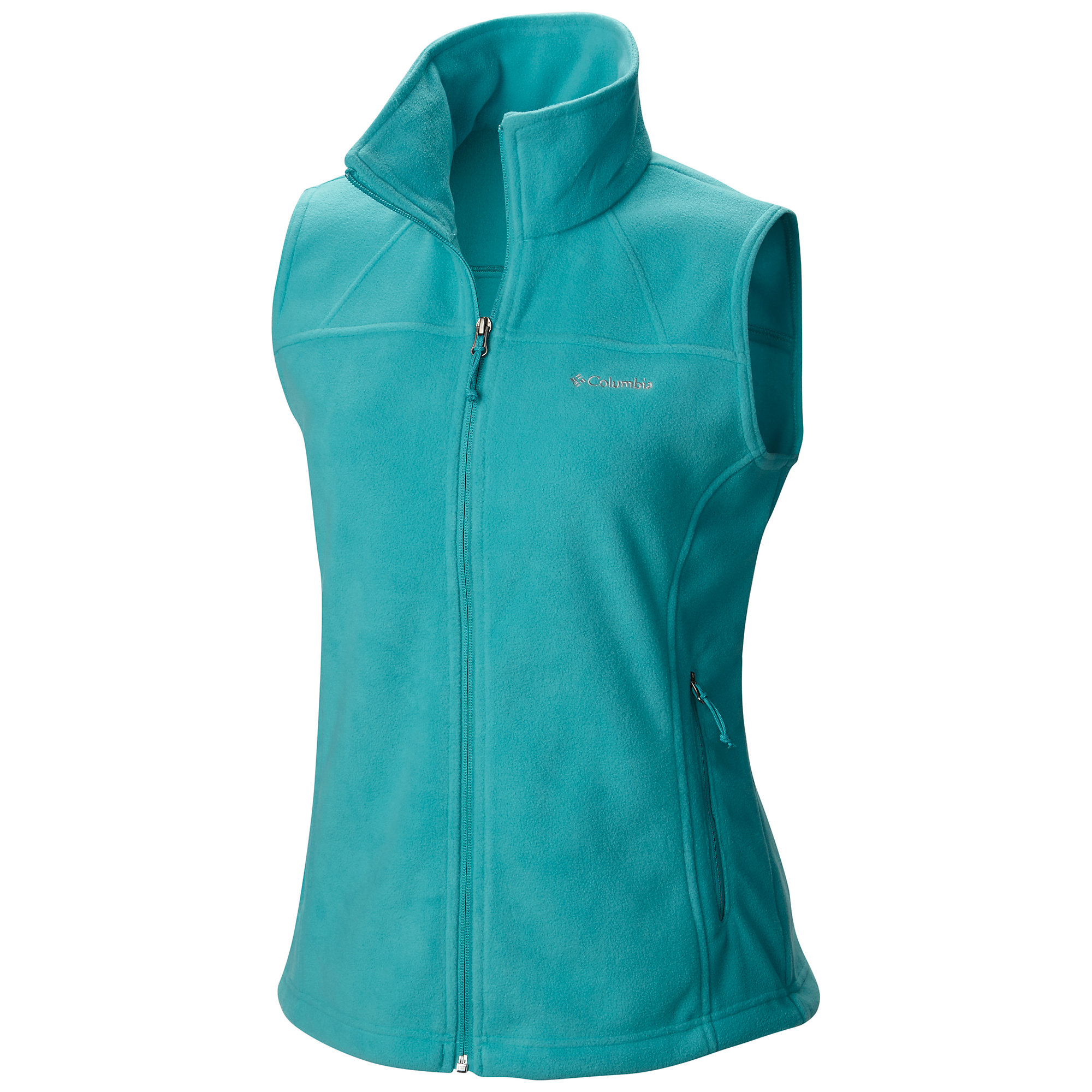photo: Columbia Fast Trek Vest fleece vest