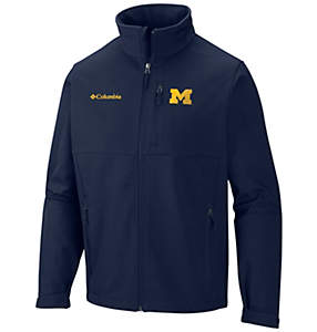 Men's Collegiate Ascender™ Softshell Jacket - Michigan