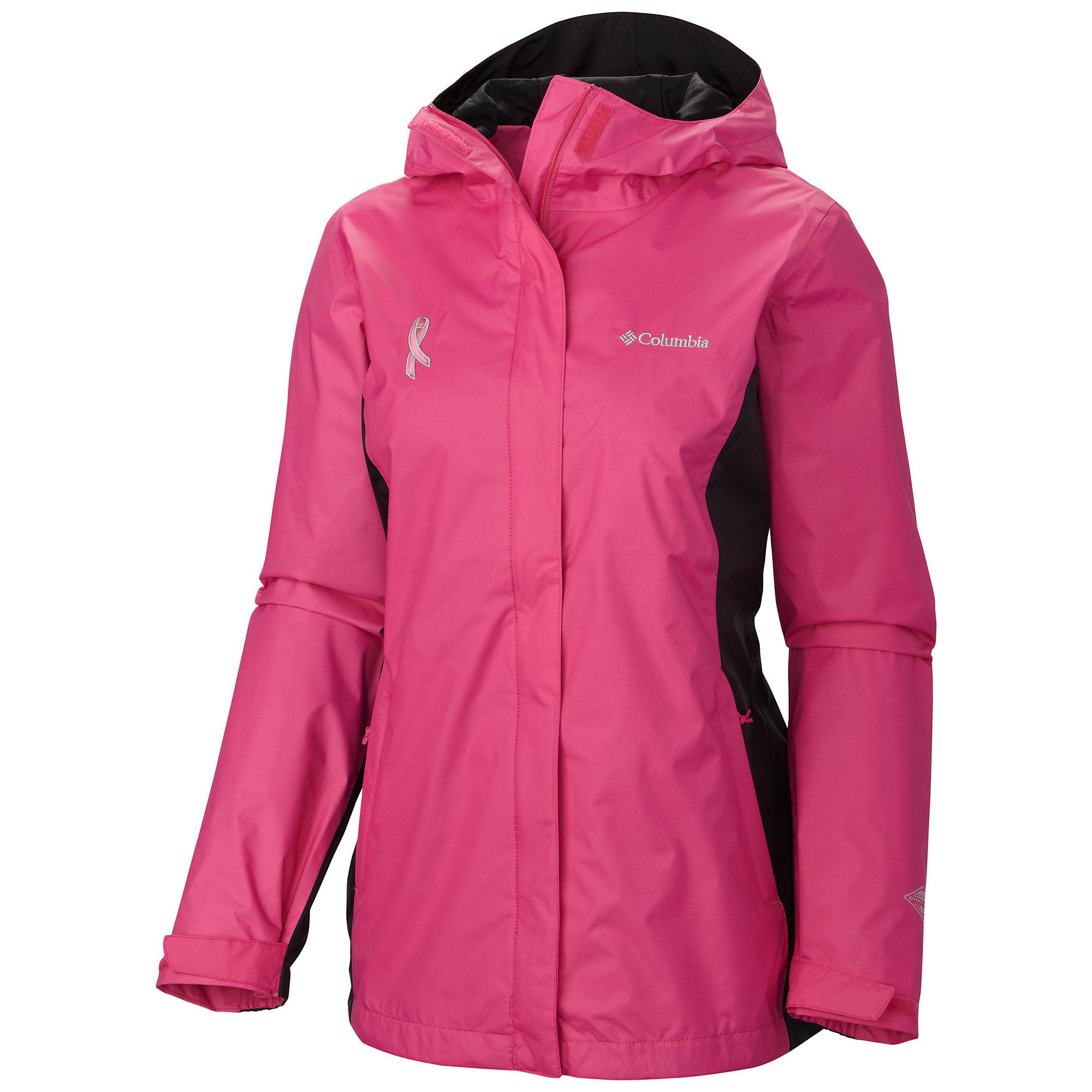 photo: Columbia Tested Tough in Pink Rain Jacket II