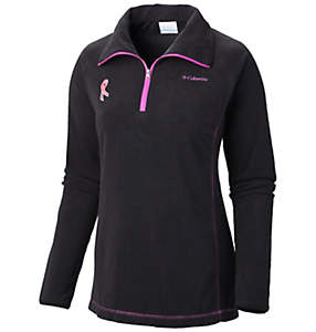Women's Tested Tough in Pink™ Fleece Half Zip