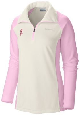 Columbia Tested Tough in Pink Fleece Half Zip