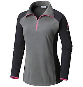 Women's Tested Tough in Pink™ Fleece Half Zip - Plus Size