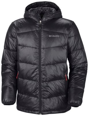 Men's Gold 650 TurboDown™ Hooded Down Jacket - Big | Columbia.com