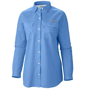 Women's PFG Bonehead™ II Long Sleeve Shirt - Plus Size
