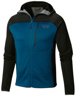 photo: Mountain Hardwear Men's Desna Grid Hooded Jacket