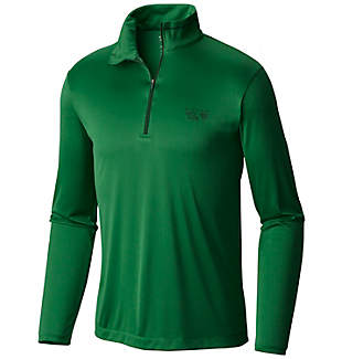 Men's Wicked™ Long Sleeve Zip T
