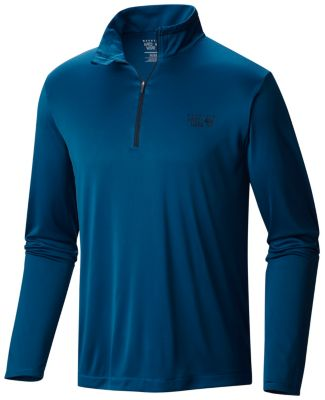 photo: Mountain Hardwear Men's Wicked Long Sleeve Zip T