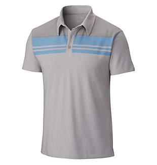Men's DrySpun™ Stripe Short Sleeve Polo