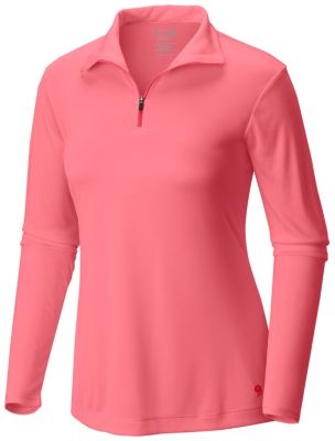 photo: Mountain Hardwear Women's Wicked Long Sleeve Zip T