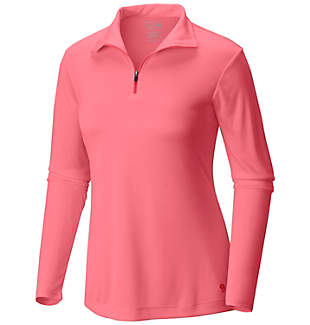 Women's Wicked™ Long Sleeve Zip T