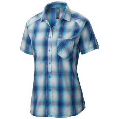 photo: Mountain Hardwear TerraLake Short Sleeve Shirt hiking shirt