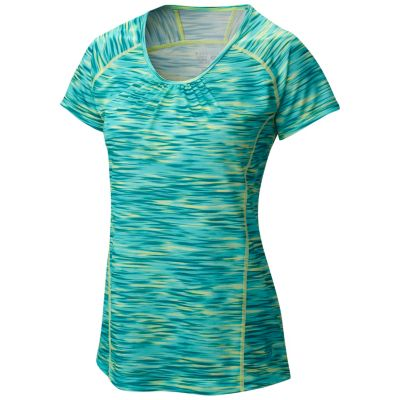 photo: Mountain Hardwear Wicked Electric Short Sleeve Shirt short sleeve performance top