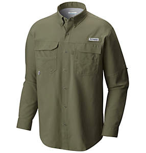 Men's PFG Blood and Guts™ III Long Sleeve Woven Shirt
