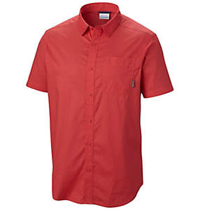 Men's Thompson Hill™ Solid Short Sleeve Shirt - Tall