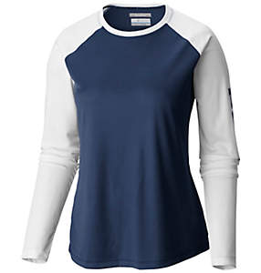 Women's Tidal Tee II Long Sleeve Wicking Sun Shading Shirt | Columbia