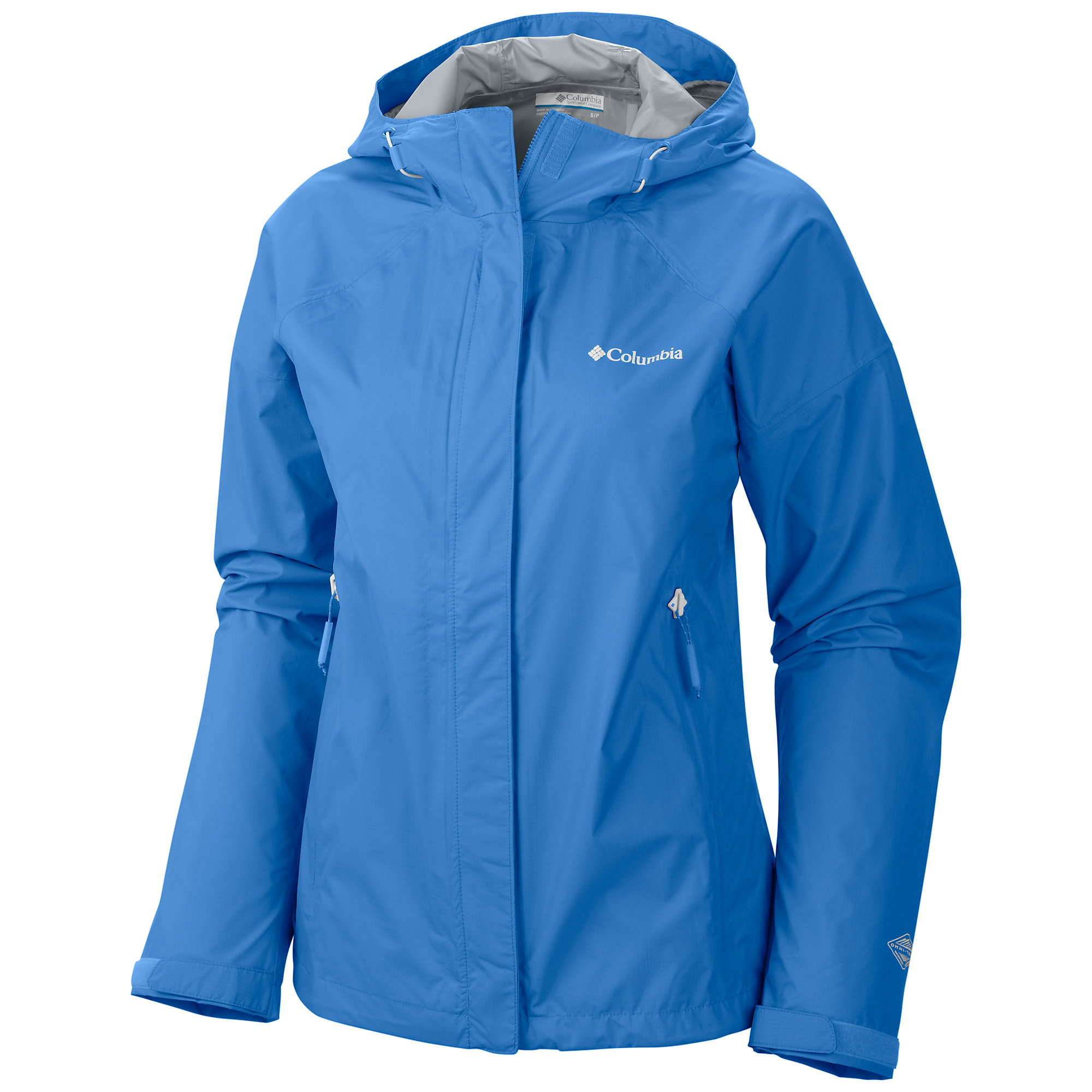 photo: Columbia Women's Sleeker Rain Jacket