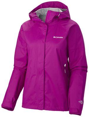 photo: Columbia Women's Sleeker Rain Jacket