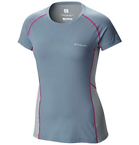 Freeze Degree™ III Short Sleeve Shirt da donna