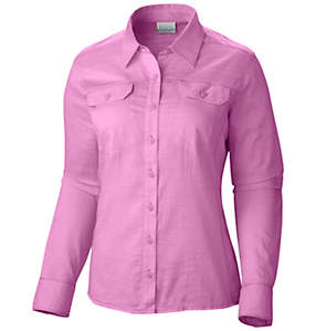 Women's Camp Henry Solid Long Sleeve Shirt