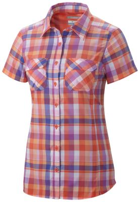 Columbia Saturday Trail III Plaid Short Sleeve Shirt