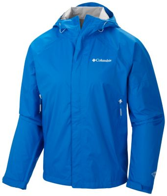 photo: Columbia Men's Sleeker Rain Jacket