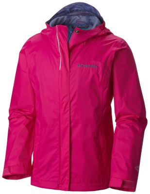 photo: Columbia Girls' Arcadia Rain Jacket