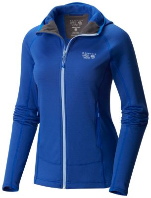 photo: Mountain Hardwear Women's Desna Grid Hooded Jacket