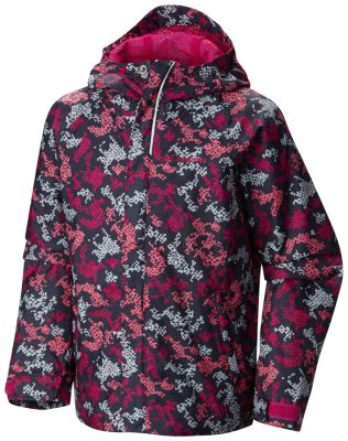 photo: Columbia Boys' Fast & Curious Rain Jacket