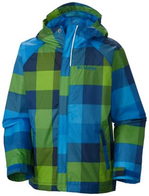 photo: Columbia Kids' Fast & Curious Rain Jacket