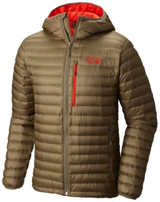 photo: Mountain Hardwear Men's Nitrous Hooded Down Jacket