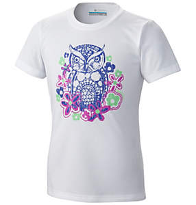 Girl's Owl Graphic Tee