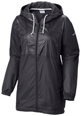Women's Flashback Windbreaker Long Jacket | Columbia.com