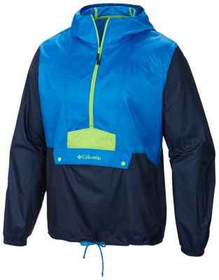 Men's Flashback Water Resistant Windbreaker Pullover. | Columbia.com