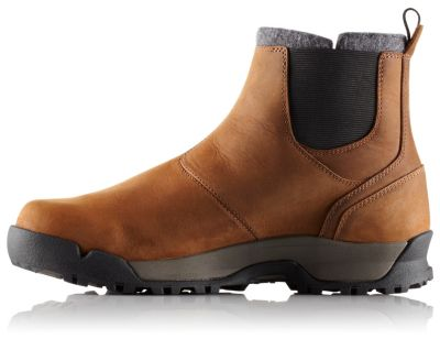 SOREL Men's Paxson Chukka Waterproof with full-grain leather. | SOREL