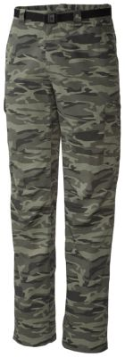 photo: Columbia Silver Ridge Printed Cargo Pant