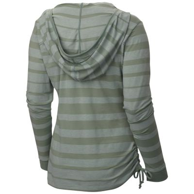 Women's DrySpun Burnout  Long Sleeve HoodyWomen's DrySpun Burnout