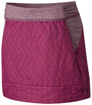 photo: Mountain Hardwear Trekkin Insulated Miniskirt hiking skirt